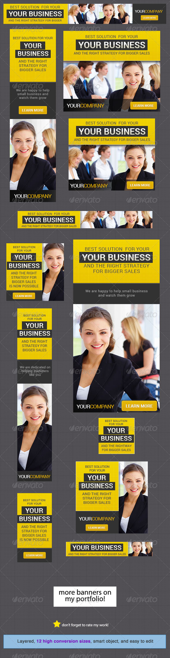 GraphicRiver Corporate Banner Design Template 7 4445877