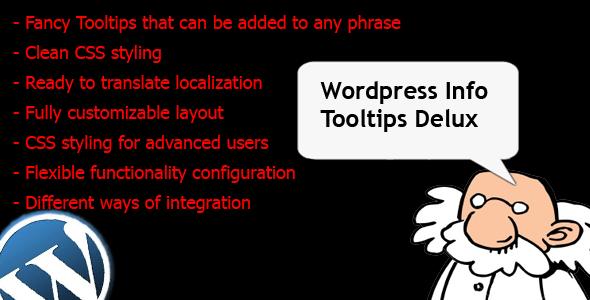 CodeCanyon Wordpress Info Tooltips Pro 4429443