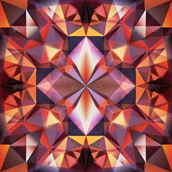 GraphicRiver Abstract Triangle Background 4446222