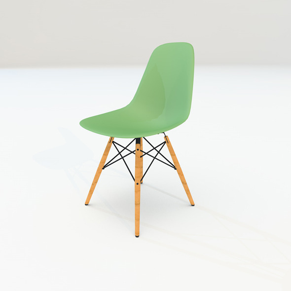 3DOcean eames chair 4438042