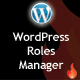 Advanced WordPress Roles Manager - CodeCanyon Item for Sale