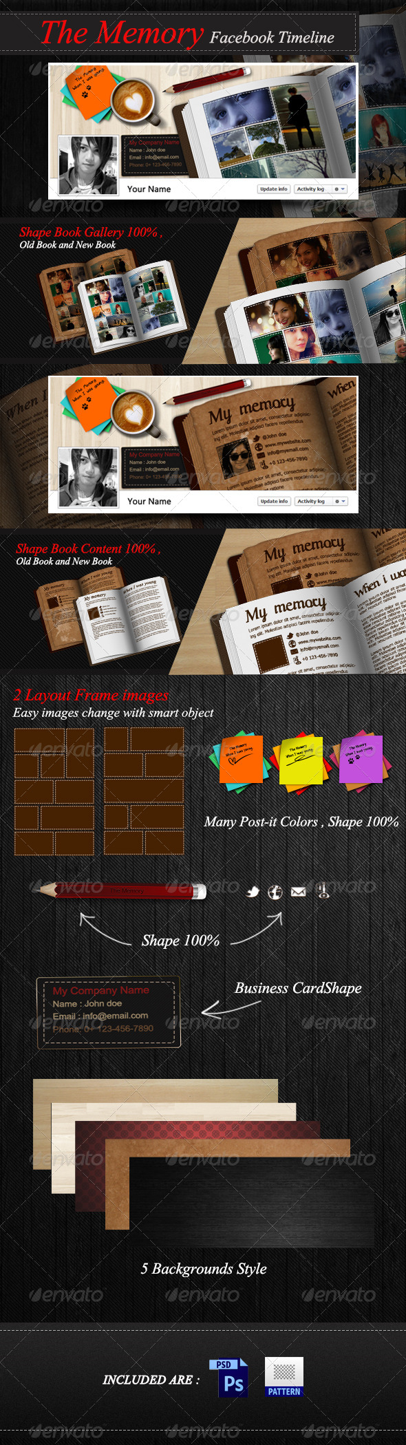 GraphicRiver The Memory FB Timeline 3183666