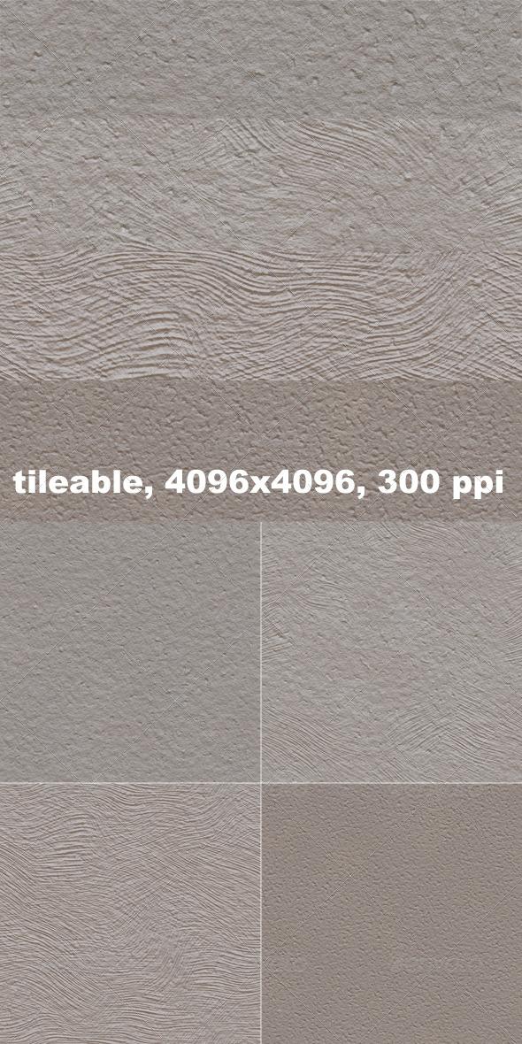 4 Stucco Textures
