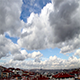 Cloud Timelapse Over the City - VideoHive Item for Sale