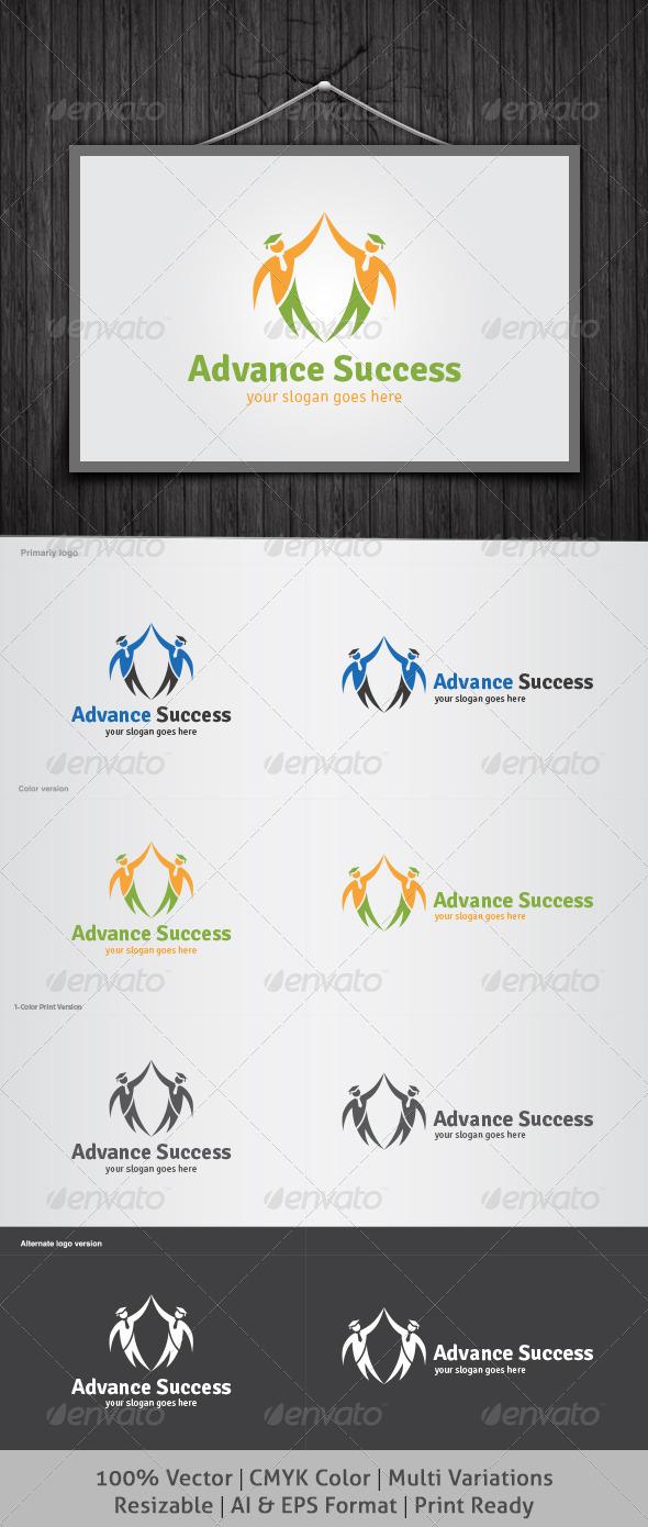 GraphicRiver Advance Success Logo 4167018