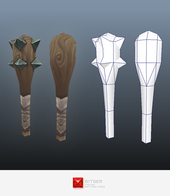 Low Poly Club - 3DOcean Item for Sale