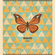 Butterfly Vintage Mosaic Pattern