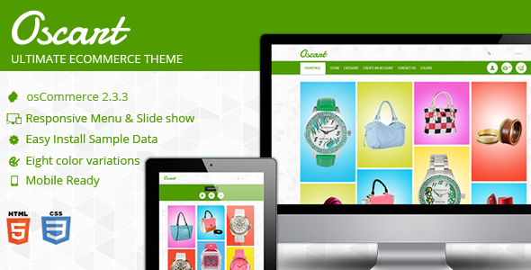 01 market image Oscart  Mobile ready OsCommerce theme
