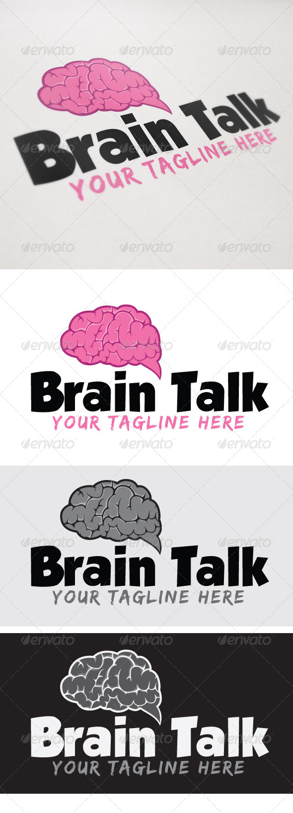 GraphicRiver Brain talk 4449640