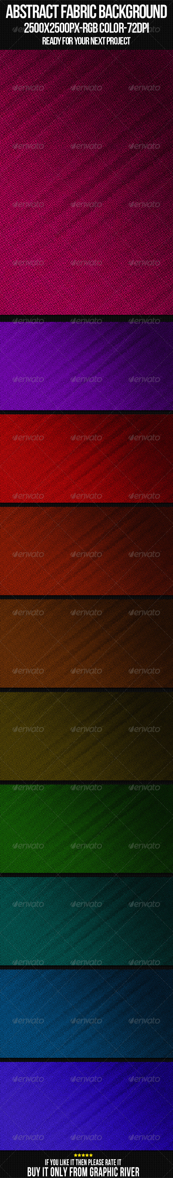 GraphicRiver Abstract Fabric Background Set 12 4450410