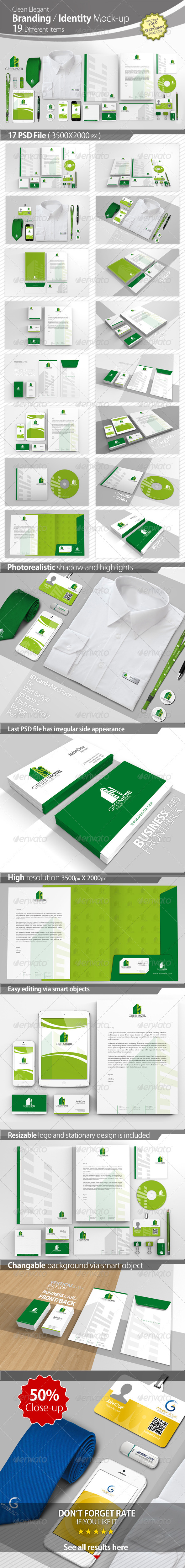 GraphicRiver Branding Identity Mock-up 4450939