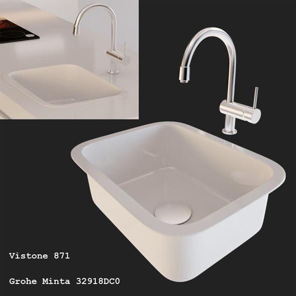 3DOcean Kitchen Sink 4451190
