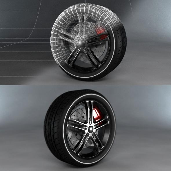 3DOcean Sport Tyre 4451195