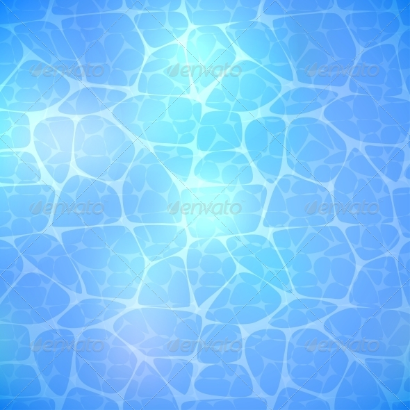 GraphicRiver Water Blue Background 4451283