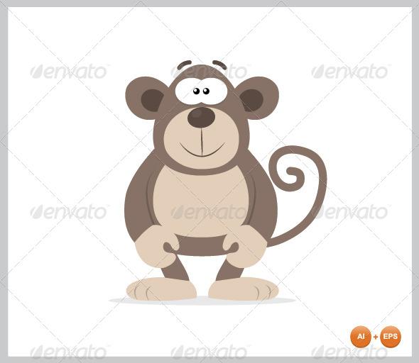 GraphicRiver Gorilla Mascot 4451524