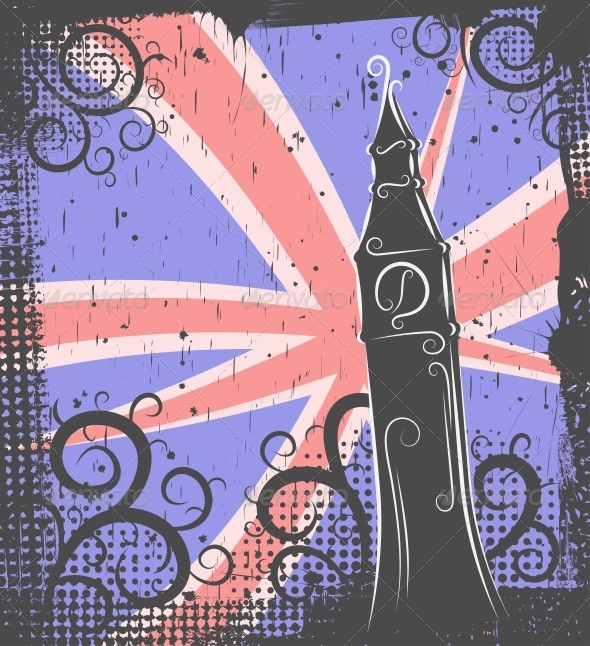 GraphicRiver Big Ben Background 4451723