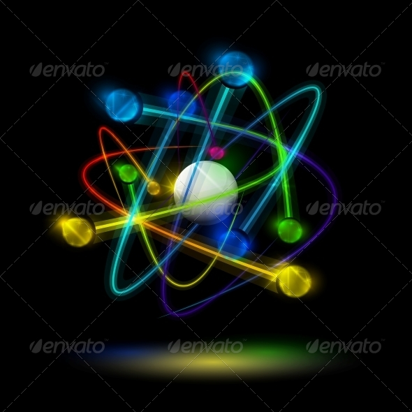 GraphicRiver Abstract Atom 4451724
