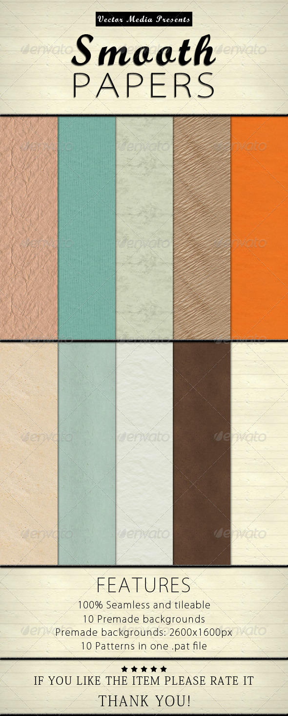 GraphicRiver Smooth Papers 4452941