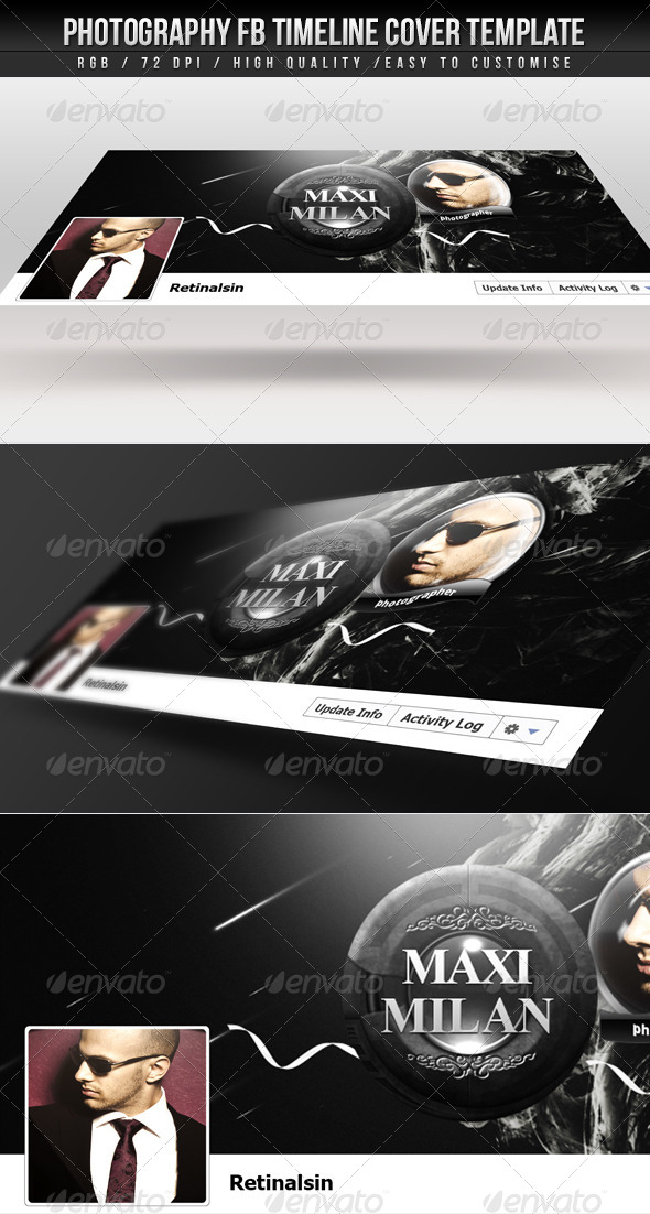 GraphicRiver Photography FB Timeline Cover 4453670