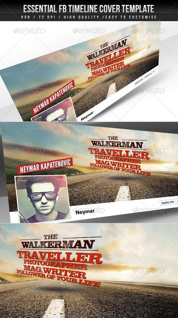 GraphicRiver Essential FB Timeline Cover 4453781
