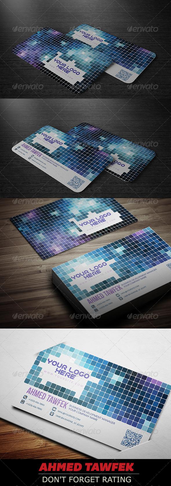 GraphicRiver Design Studio Business Card 4353751