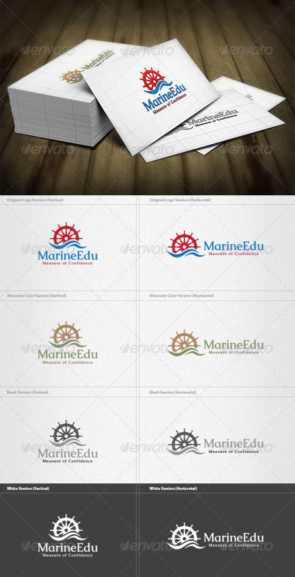 GraphicRiver Marine Engineer Logo 4454198
