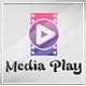 Media Play Logo Template
