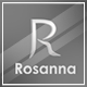 Rosanna Logo Template