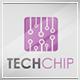 Tech Chip Logo Template
