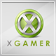 X Gamer Logo Template