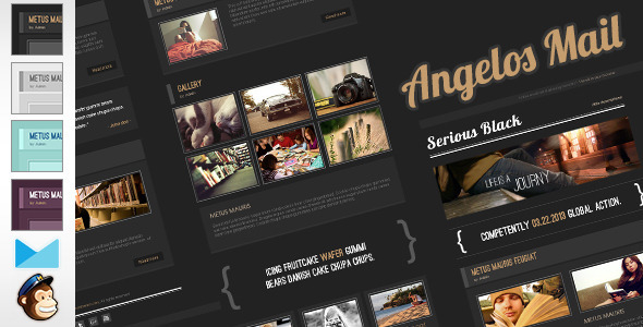 ThemeForest Angelos Email Template 4455777