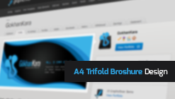 A4 Trifold Broshure Design Collection