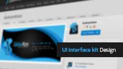 UI Kit ( User interface ) Design Collection