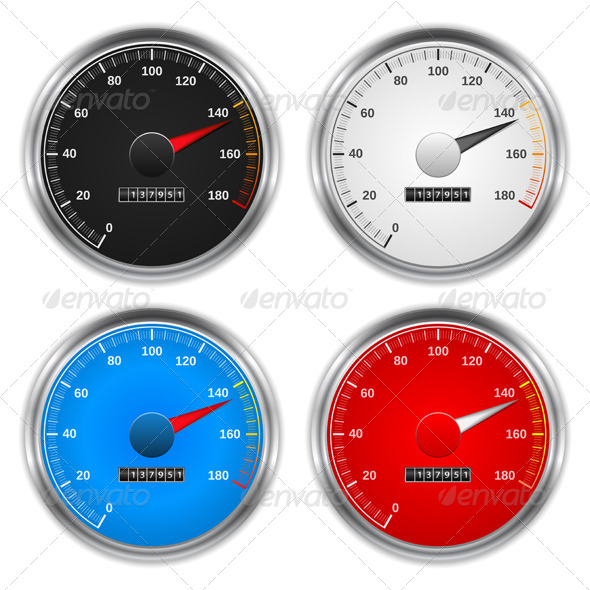 GraphicRiver Speedometers 4455928