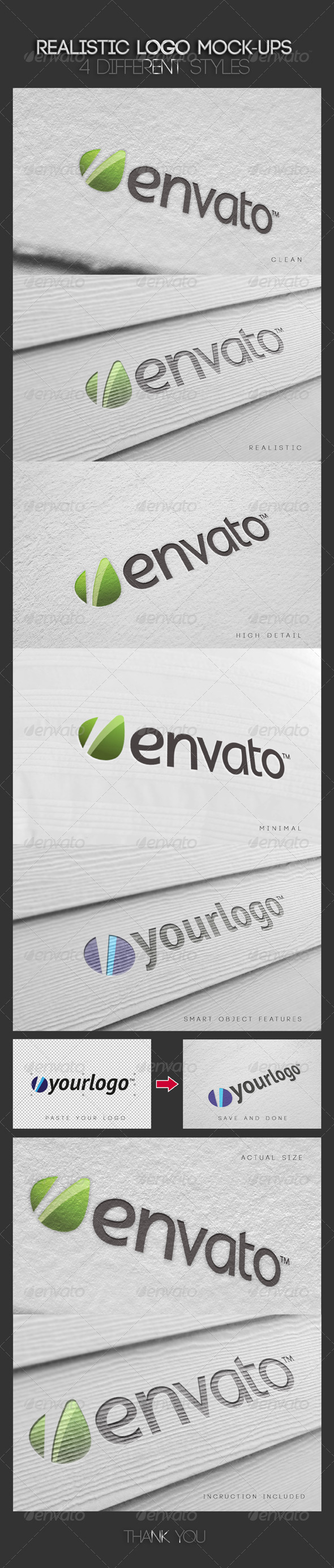 GraphicRiver Realistic Logo Mock-Ups Vol.1 4455967