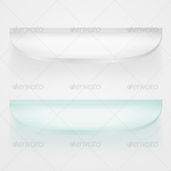 GraphicRiver Glass Shelves 4456091