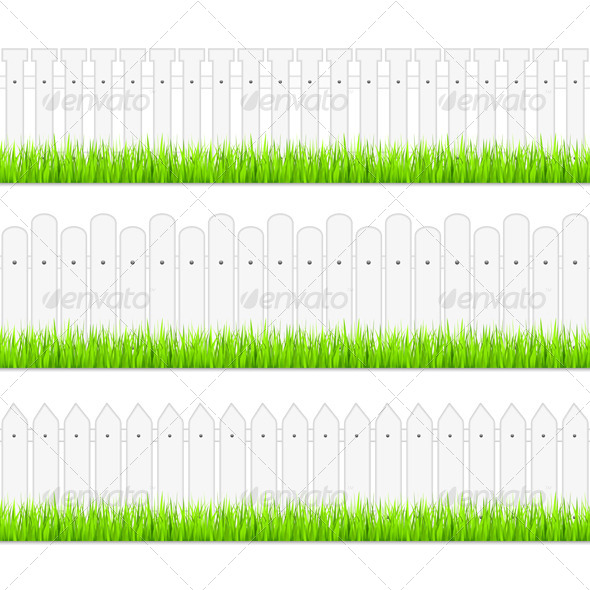 GraphicRiver White Fences 4456099