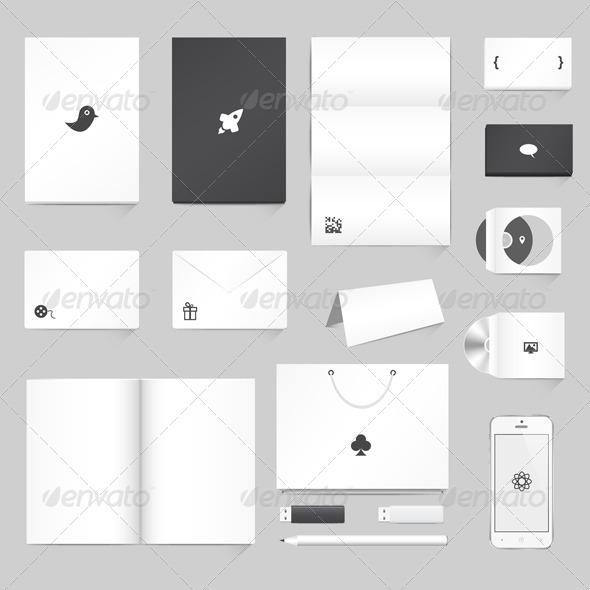 GraphicRiver Corporate Identity Mockup 4456125
