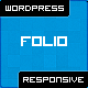 Folio WP: Single Portfolio WordPress Theme + Blog