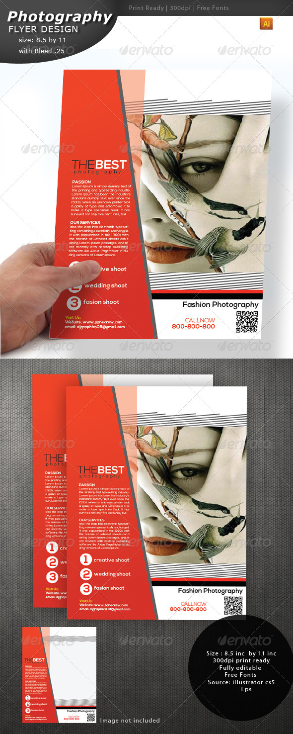 GraphicRiver Photography Flyer 4361451