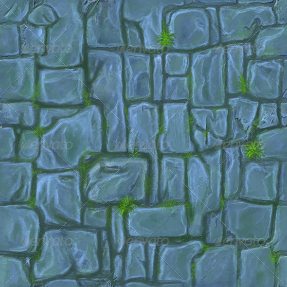 Stone Floor Tile  - 3DOcean Item for Sale