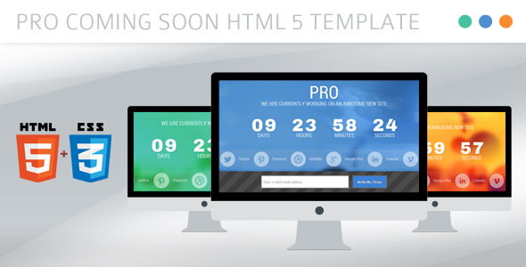 PRO Under Construction HTML Template