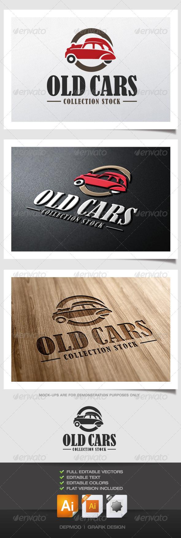 Car Logo Font Old cars logo - objects logo