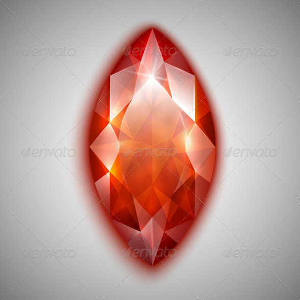 GraphicRiver Marquise Cut Diamond 4458377