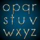 Shiny Diamond Alphabet Letters, Lower Case Version - GraphicRiver Item for Sale