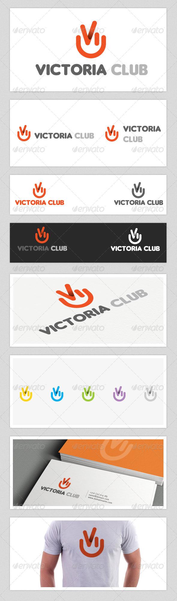 GraphicRiver Victoria Club Logo 4380028