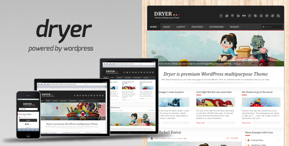 Dryer - Multipurpose WordPress Theme