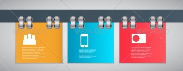 GraphicRiver Infographic Template Vector Illustration 4459510