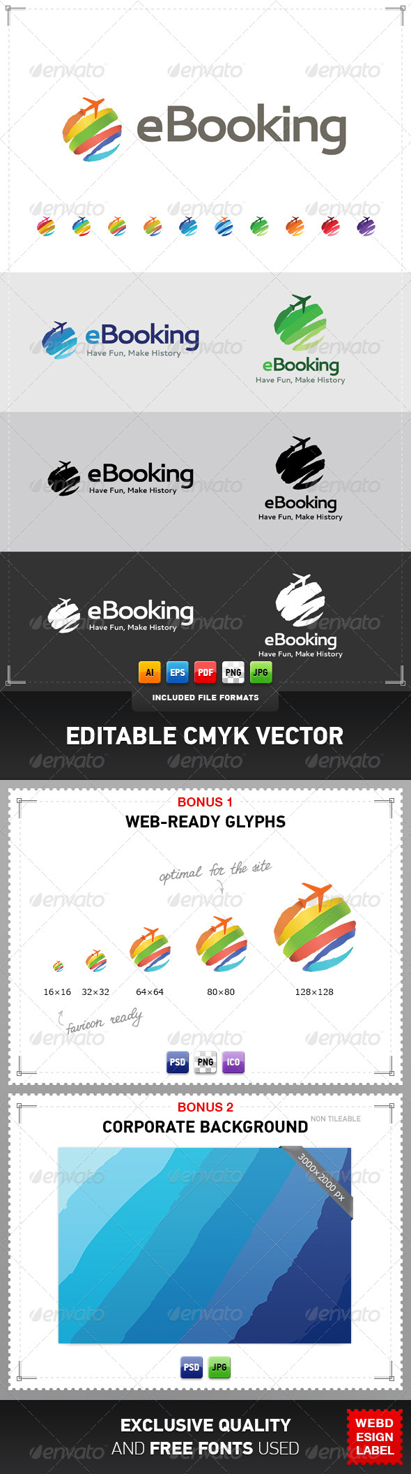 GraphicRiver eBooking Logo 4365733