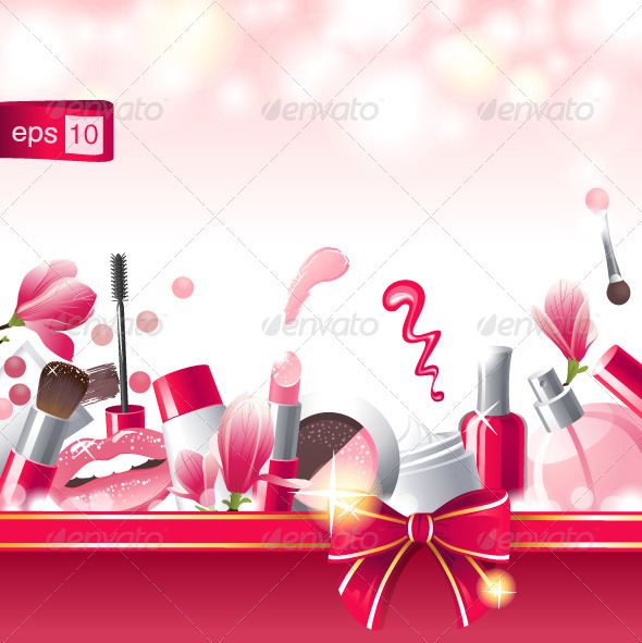 GraphicRiver Make-Up Background 4463344